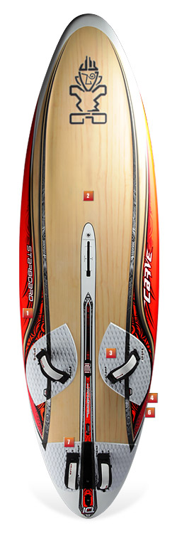 Starboard Carve 121 test 2010 & 2011