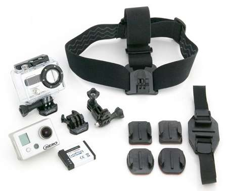 GoPro HD Helmet HERO – Boom mount included