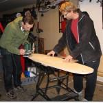 Ice Board – Plywood paint job DIY