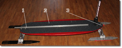 Ice board project summary diy for Longboard truck template