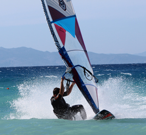 Bertrand Crauzas Windsurfing PRO Center Rhodes
