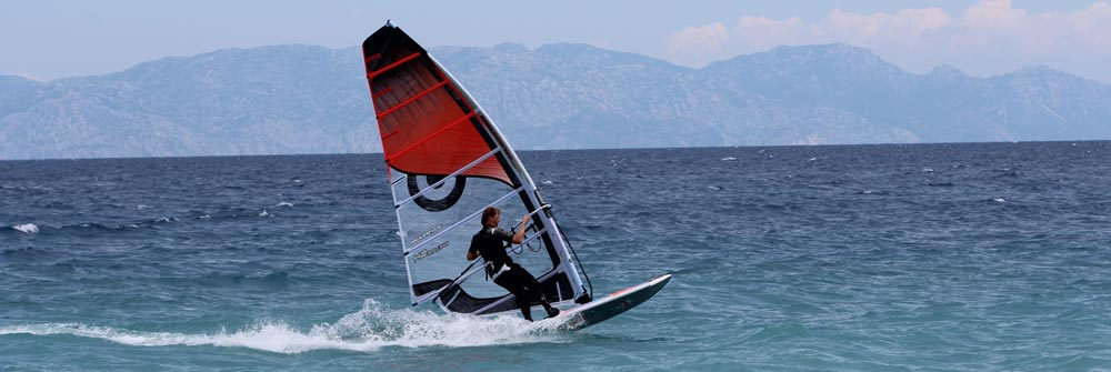Windsurfing at Ialyssos – Rhodes – Greece