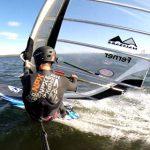 K4 GoPro harness-mount test