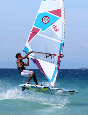 Windsurfing Freestyle PRO Center Ialyssos, Rhodes