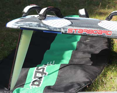 Black Project Type R 45 - Windsurfing fin test