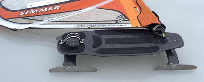 Feodor Gurvits 4 blade custom Iceboard