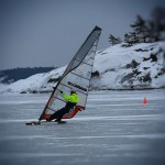 Iceboard – New speed record holder – Henrik Mård S414