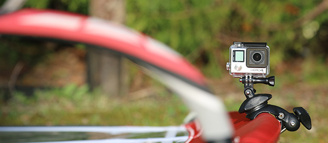 Flymount – GoPro mount for mast and boom portfolio