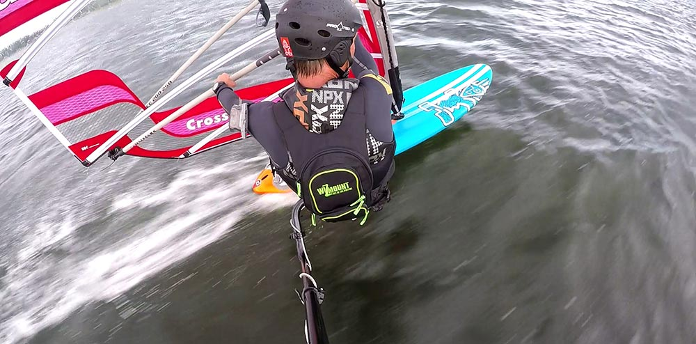 Windsurfing profiles on Instagram